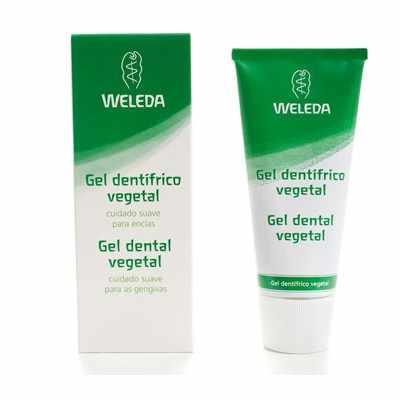 Gel dentífrico vegetal Weleda