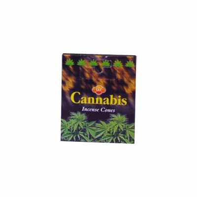 Incienso Cono Cannabis - SAC
