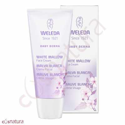 Crema Facial Malva Blanca Baby Derma Weleda 50 ml