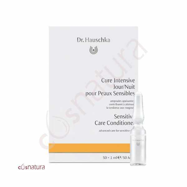 Cura Cutanea Sensitive Dr. Hauschka 50 ampollas