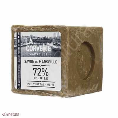 Jabón de Marsella Puro 72% La Corvette