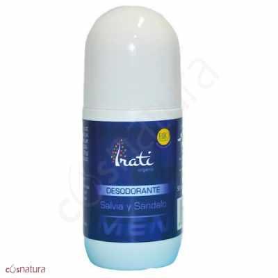 Desodorante Roll-on Salvia y Sandalo Irati Organic