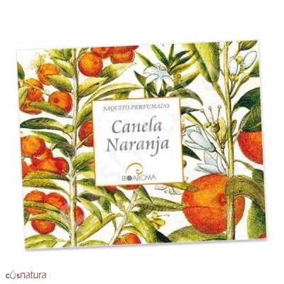 Saquitos Perfumados Canela y Naranja BioAroma