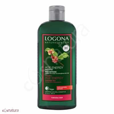 Champu Age Energy con Cafena Bio Logona 250 ml