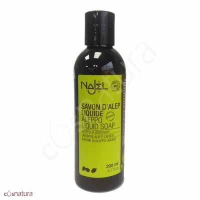 Jabón de Alepo Líquido Bio, 200 ml, Najel