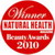 Natural Health & Beauty Magazine Awards 2010 - Best Natural Range