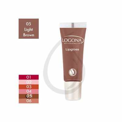 Brillo de labios, Gloss Light Brown 05, Logona