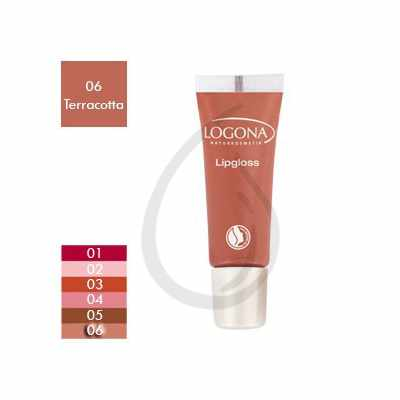 Brillo de labios, Gloss Terracotta 06, Logona