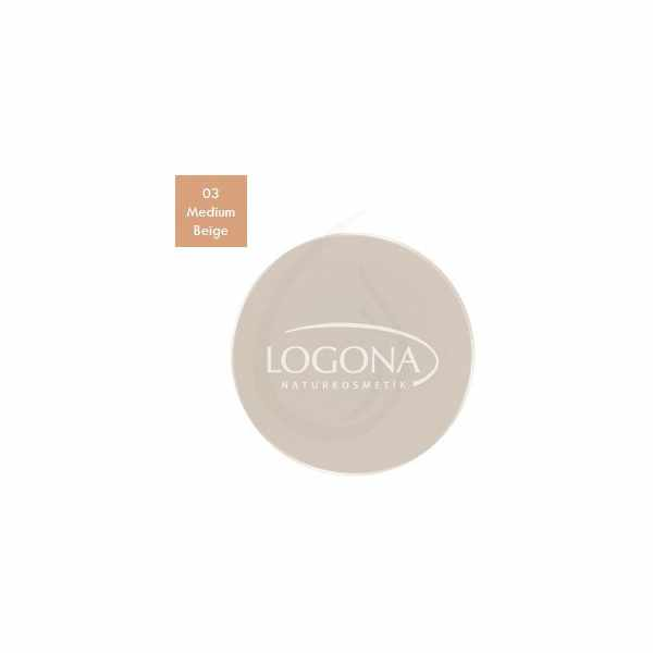 "Maquillaje Fluido ""Perfect Finish Medium Beige 03"", Logona"