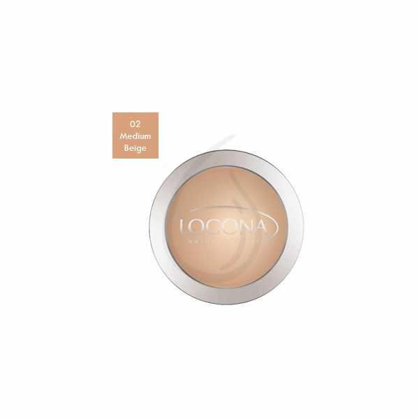 """Maquillaje en Polvo Compacto """"Medium Beige 02"""", Logona"""