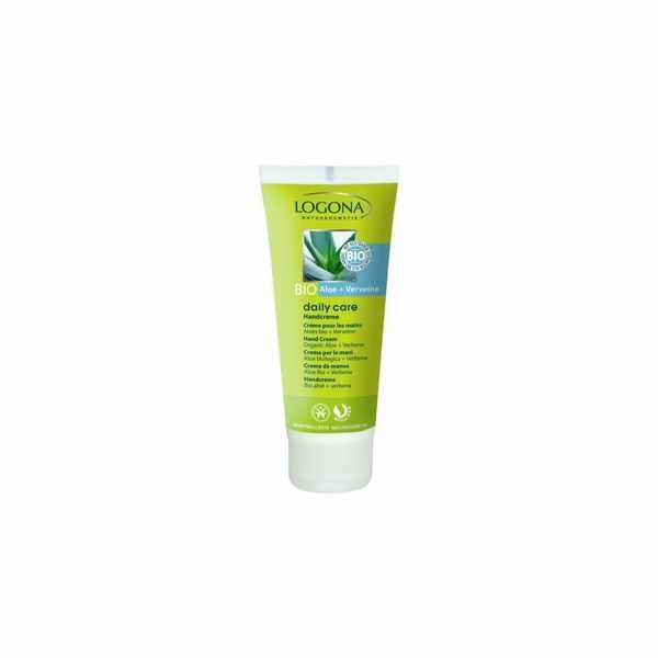 Crema de manos Aloe Bio y Verbena Daily Care - Logona