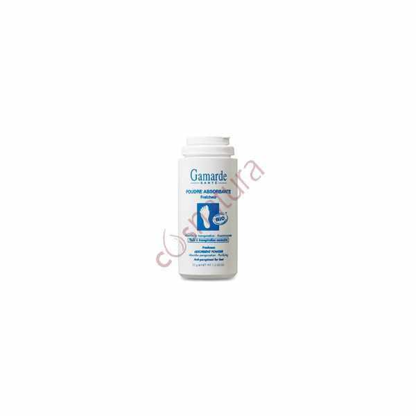 Desodorante Polvo Absorvente de Pies, 35 gr, Gamarde