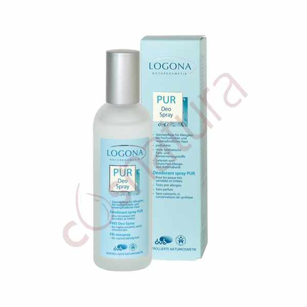 Desodorante Spray Free, 100 ml, Logona
