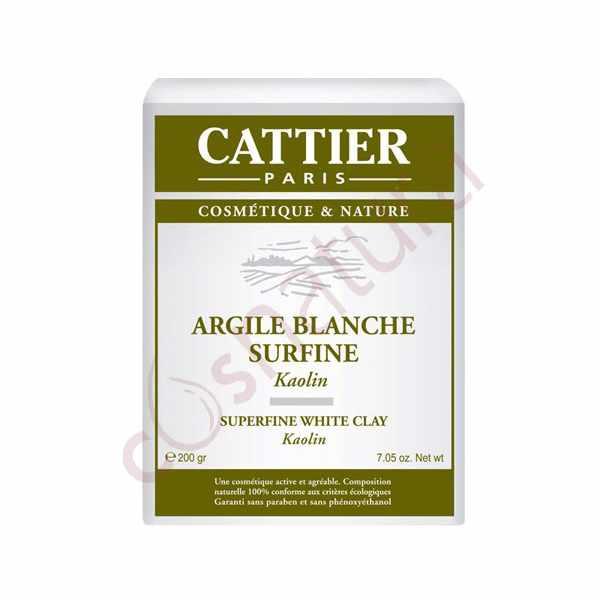 Arcilla Blanca superfina, 200 gr, Cattier