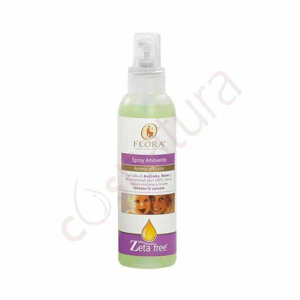 Spray Ambientador Repelente de Insectos 130 ml Flora