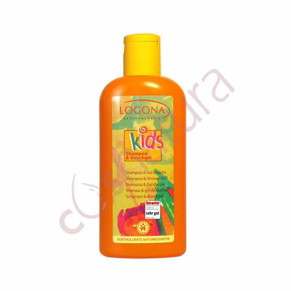 Champú & Gel de Ducha Kids Logona 200 ml