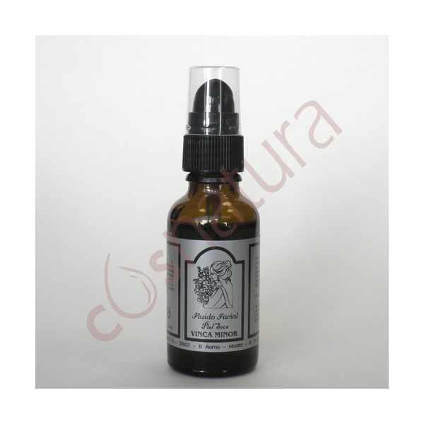 Fluido Facial Piel Seca Vinca Minor 30 ml