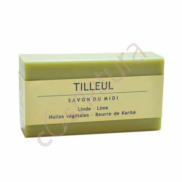 Jabón de Karité Flor de Tilo Savon Du Midi 100 gr