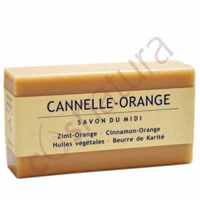 Jabón de Karité Canela y Naranja Savon Du Midi 100 gr