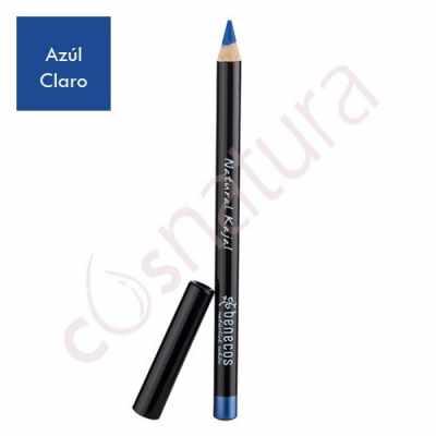 Lápiz de Ojos Natural Kajal Azul Claro Benecos