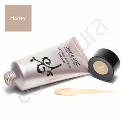 Maquillaje Natural en Crema Honey Benecos