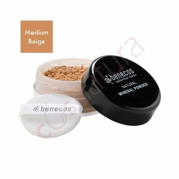 Maquillaje en Polvo Medium Beig Benecos