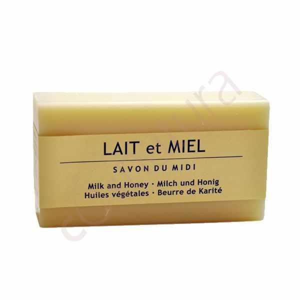 Jabón de Karité Leche y Miel Savon Du Midi 100 gr