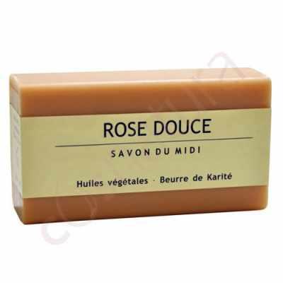 Jabón de Karité Rose Douce Savon Du Midi 100 gr