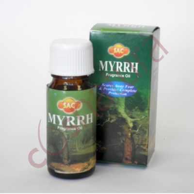 Aceite aromáticos quemador Myrra SAC