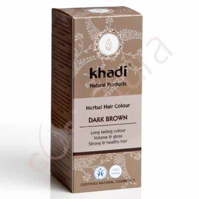 Tinte Vegetal Henna Castaño Oscuro Khadí 100 gr