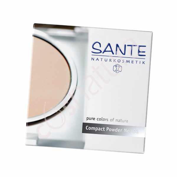 Maquillaje Compacto 01 Porcellan Sante
