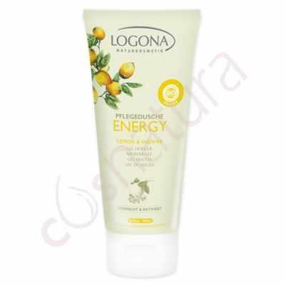 Gel de Ducha Energy Limón & Jengibre Logona 200 ml