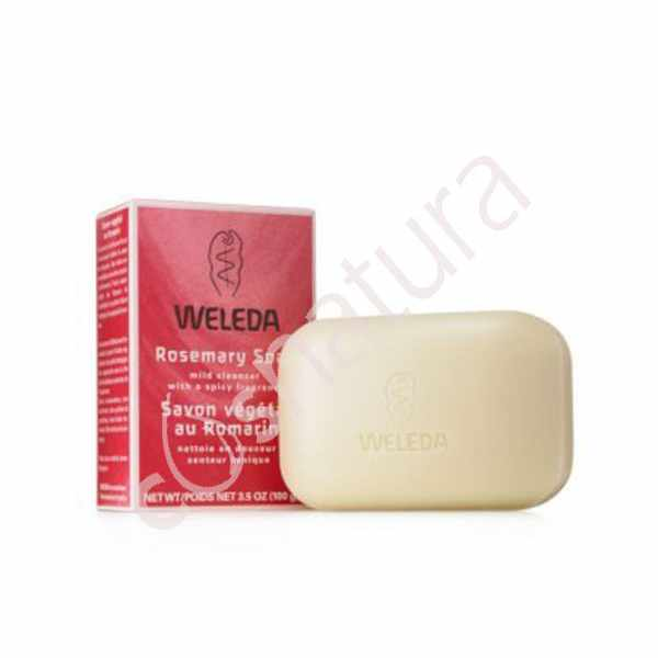 Jabón Vegetal de Rosa Weleda 100g