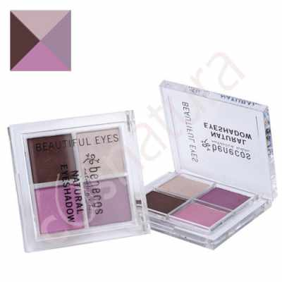 Paleta Sombra de Ojos Quatro Beautiful Eyes 01 Benecos