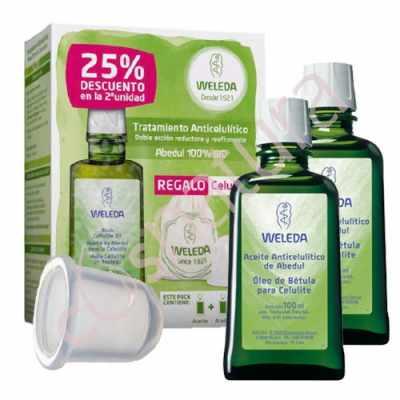 Tratamiento Anticelulítico de Abedul Weleda + CeluliCup