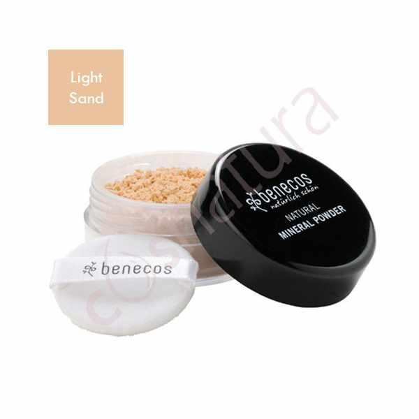 Maquillaje en Polvo Light Sand Benecos