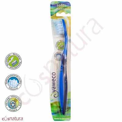 Cepillo Dental Ecológico Nylon Suave Yaweco Aa