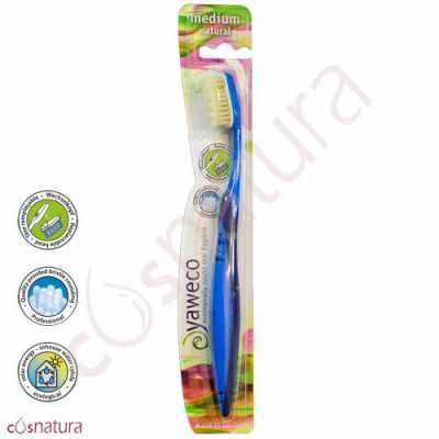 Cepillo Dental Ecológico Natural Medio Yaweco AA