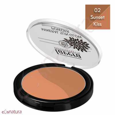 Maquillaje Dúo Polvo Bronceador 02 Sunset Kiss Lavera