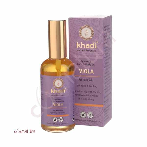 Aceite Facial & Corporal Ayurveda Violeta Khadí