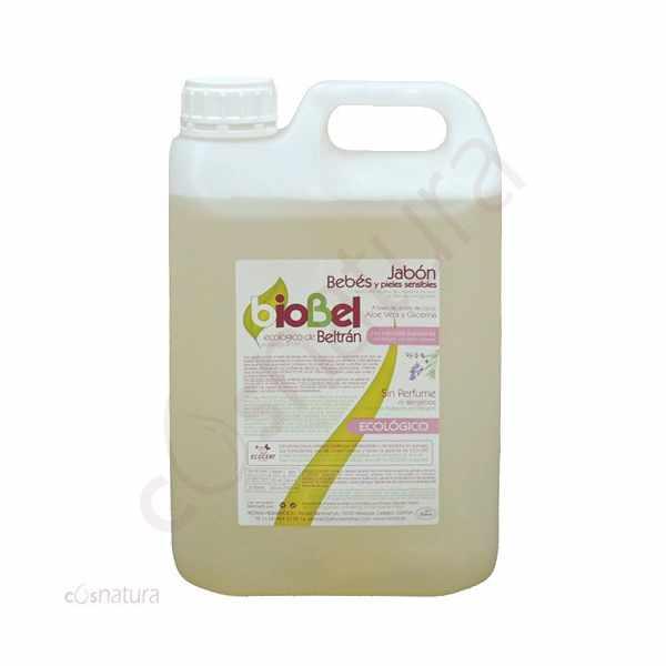 Jabón Bebés y Pieles Sensibles Biobel Beltran 5 l