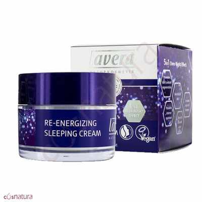 Crema Sleeping Re-Energizing 5en1 Lavera