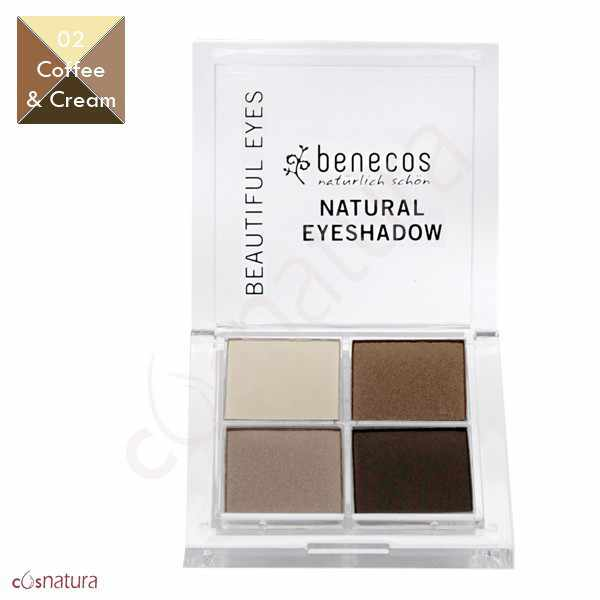 Paleta Sombra de Ojos Quattro 02 Coffe & Cream Benecos