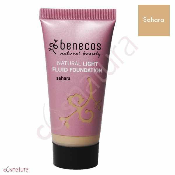Maquillaje Natural Fluido Sahara Benecos