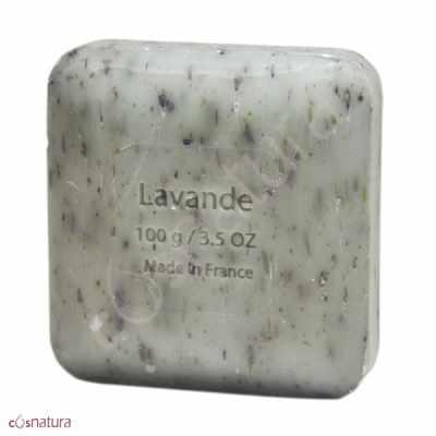 Jabón Exfoliante Lavanda Savon Du Midi