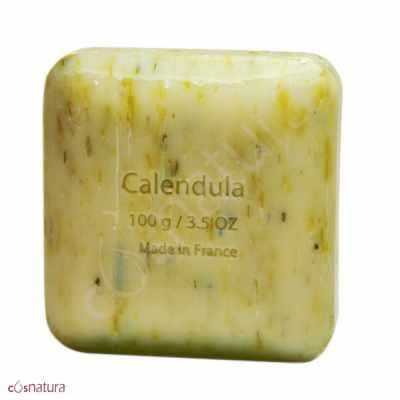 Jabón Exfoliante Caléndula Savon Du Midi