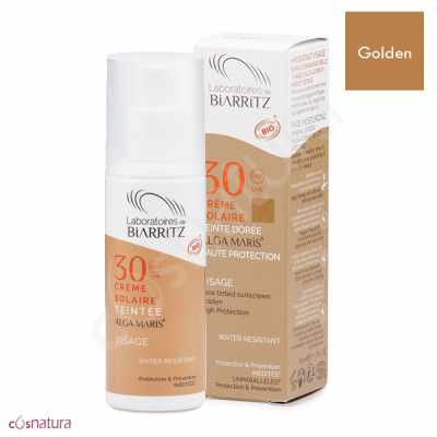 Crema Solar Color Golden SPF 30 Alga Maris