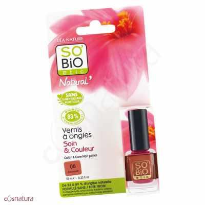Esmalte de Unas 06 Rose Nude So Bio Etic