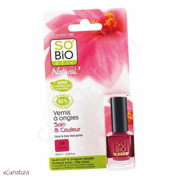 Esmalte de Unas 09 Rose Arty So Bio Etic