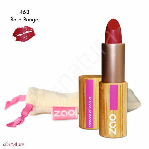 Barra de Labios Mate 463 Rose Rouge Zao